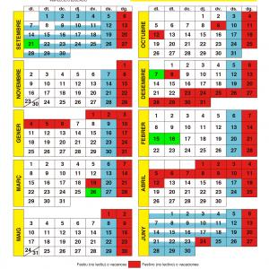 Calendario Escolar Valencia 2020-2021